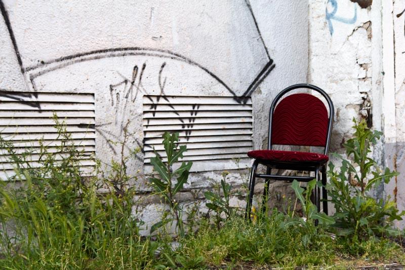 Sitzgelegentheit II – Industriegelände