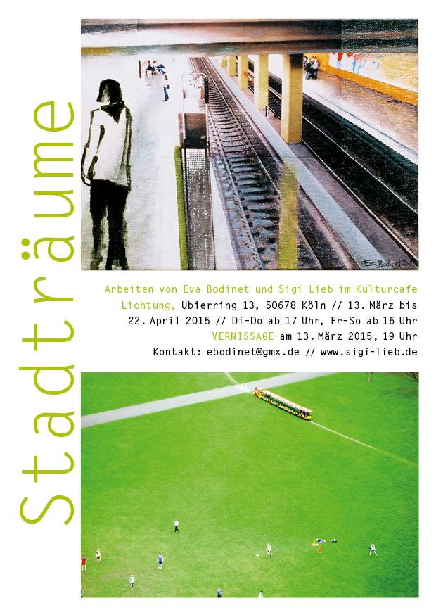 Stadträume – Vernissage am 13. März 2015